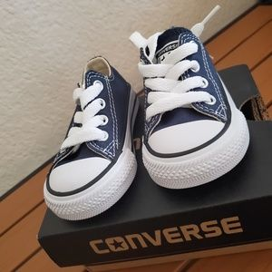 Navy Blue Converse All Star for Infant
